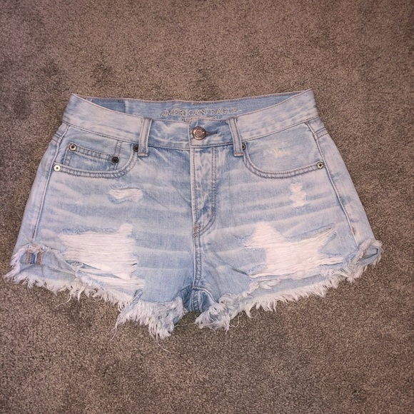 American Eagle Tomgirl Shortie Jean Shorts